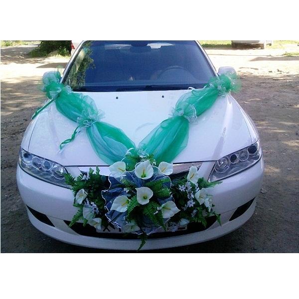 Как самой сделать украшение на свадебную машину