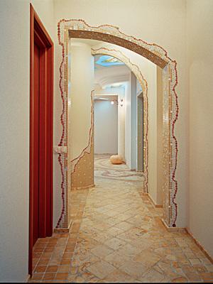 Оформление арки в коридоре своими руками 865