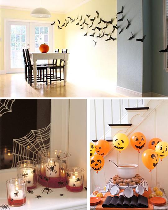 Как украсить комнату на хэллоуин своими руками детям